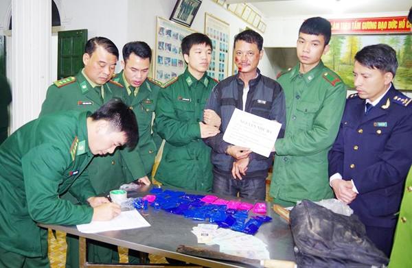 Nguyễn Như Ba bị lực lượng chức năng Hà Tĩnh bắt giữ cùng 8.000 viên ma túy tổng hợp