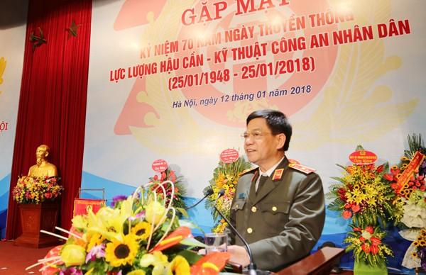 Thiếu tướng Đoàn Duy Khương, Giám đốc CATP Hà Nội lĩnh hội ý kiến chỉ đạo của lãnh đạo Bộ Công an