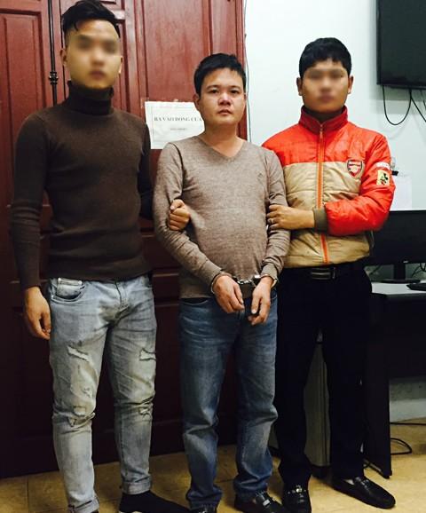 Lực lượng CAQ Bắc Từ Liêm bắt giữ đối tượng Bùi Huy Hoàng