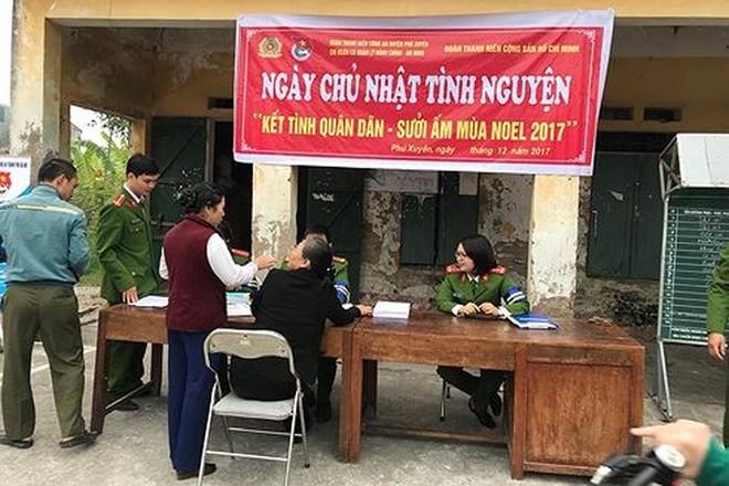 Các hoạt động tình nguyện phục vụ nhân dân được CATP Hà Nội hướng dẫn, chỉ đạo cho Công an các quận, huyện, thị xã triển khai ngày càng nhiều hơn