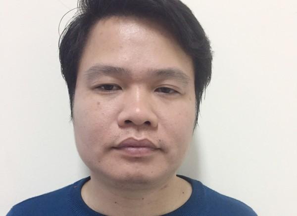 Nguyễn Văn Thái tại cơ quan công an