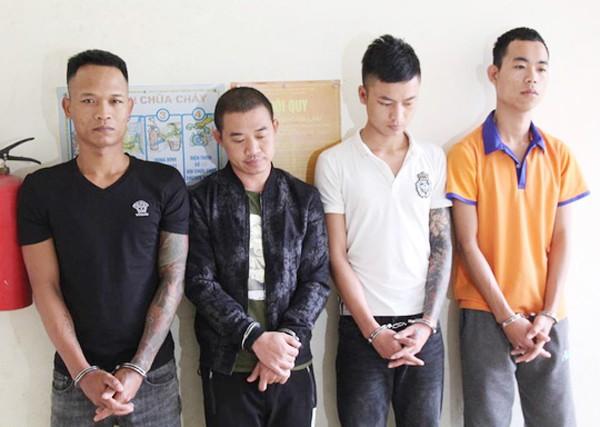 Ổ nhóm đối tượng cho vay nặng lãi vừa bị CATP Vinh bắt giữ