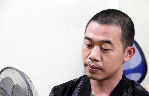 Nguyễn Văn Vương tại cơ quan Công an