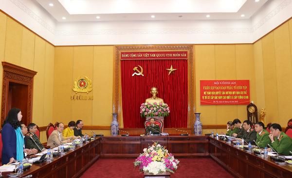 Phiên họp đã ghi nhận nhiều ý kiến xác đáng của các đại biểu tham dự