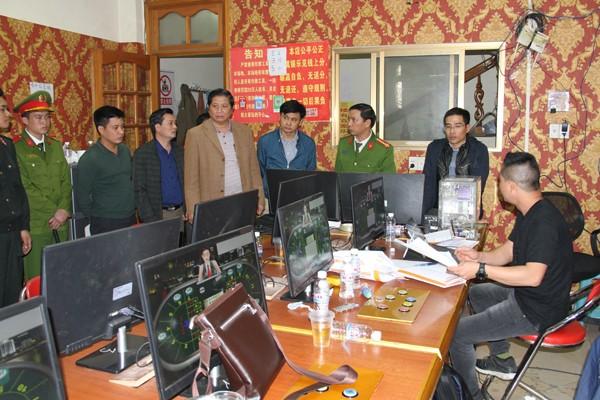 Lãnh đạo Công an tỉnh Lào Cai trực tiếp chỉ đạo tại hiện trường