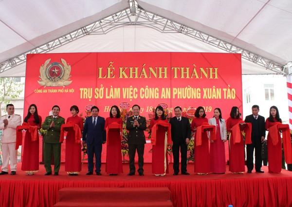 Khánh thành trụ sở CAP Xuân Tảo, quận Bắc Từ Liêm, Hà Nội ảnh 4