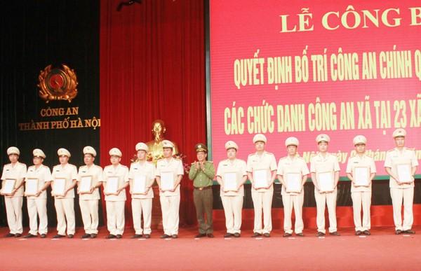 Trung tướng Đoàn Duy Khương trao Quyết định bổ nhiệm chức danh Trưởng CAX