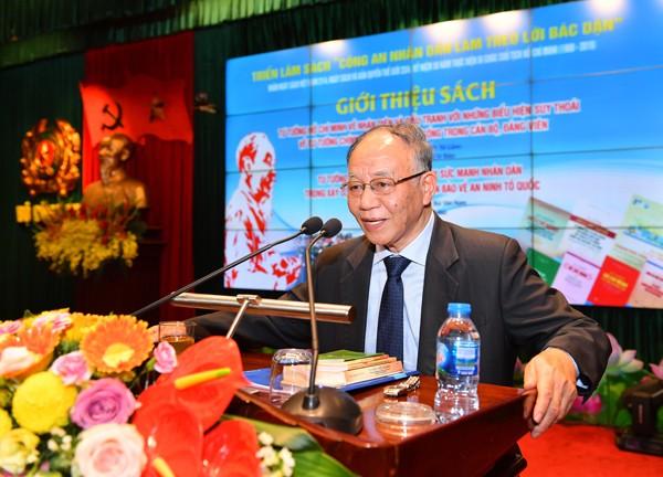 GS.TS Hoàng Chí Bảo, nguyên Ủy viên Hội đồng Lý luận Trung ương giới thiệu 2 cuốn sách của lãnh đạo Bộ Công an