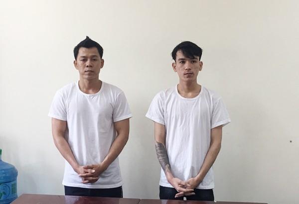 Hai anh em Lê Văn Hoàng và Lê Hoàng Phi hiện đang bị tạm giam để điều tra