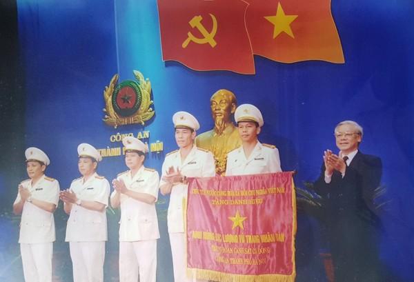 Năm 2010, Trung đoàn Cảnh sát cơ động CATP Hà Nội vinh dự được Đảng, Nhà nước trao tặng danh hiệu Anh hùng lực lượng vũ trang nhân dân