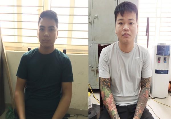 Hai đối tượng Linh và Việt tại CAQ Nam Từ Liêm
