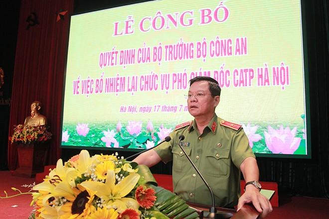 Thiếu tướng Đào Thanh Hải, Phó Bí thư Đảng ủy, Phó Giám đốc CATP chủ trì hội nghị
