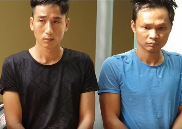 Hai đối tượng chuyên tiêu thụ xe gian là Nguyễn Văn Hải và Nguyễn Văn Thạo