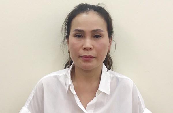 Bị can Lê Thị Thanh Thúy