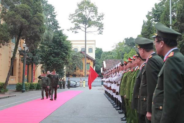 Đại tướng Tô Lâm, Bộ trưởng Bộ Công an kiểm tra công tác Công an Hà Nội ảnh 2