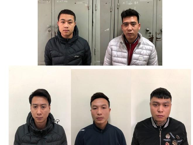 Ổ nhóm đối tượng đã bị Cơ quan CSĐT - CAQ Nam Từ Liêm khởi tố tội danh cho vay lãi nặng trong giao dịch dân sự