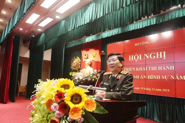 Trung tướng Nguyễn Văn Sơn, Thứ trưởng Bộ Công an chỉ đạo tại hội nghị
