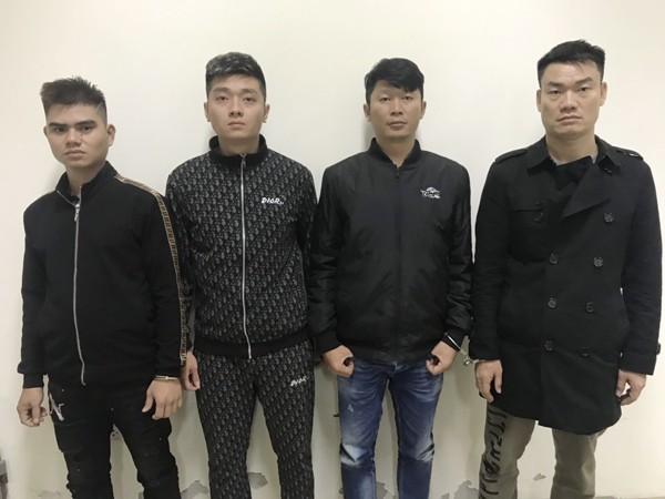 Nhóm các đối tượng bắt giữ người trái pháp luật và cướp tài sản đang bị tạm giữ hình sự