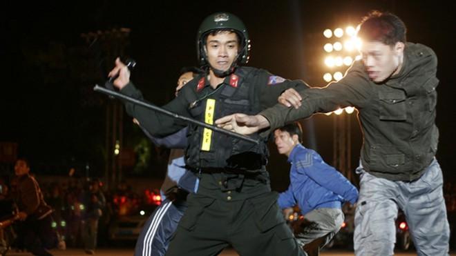 Lực lượng công an đã mở nhiều đợt cao điểm tấn công trấn áp tội phạm