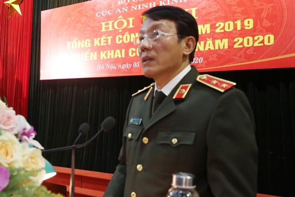 Trung tướng Lương Tam Quang, Thứ trưởng Bộ Công an phát biểu chỉ đạo tại hội nghị