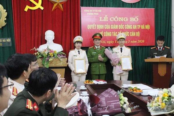 Phòng Xây dựng phong trào toàn dân bảo vệ an ninh Tổ quốc được bố trí theo mô hình tổ chức mới với 3 đội công tác
