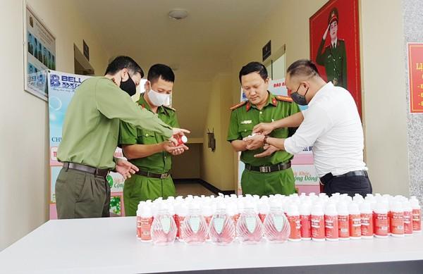 Hướng dẫn CBCS CAP Đại Mỗ sử dụng nước rửa tay khô