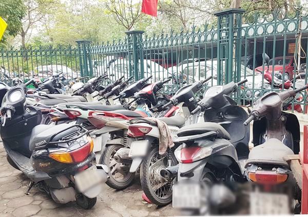 Cơ quan CSĐT - CAQ Bắc Từ Liêm đã thu được một số xe máy do ổ nhóm này trộm cắp được