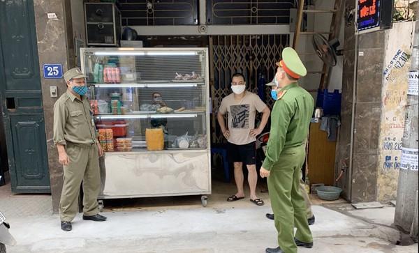 Tuyên truyền đến các cơ sở kinh doanh ăn uống tạm đóng cửa trong thời gian phòng chống dịch bệnh