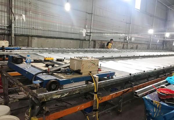 Xưởng sản xuất được mở rộng sang 2 cơ sở với quy mô lớn
