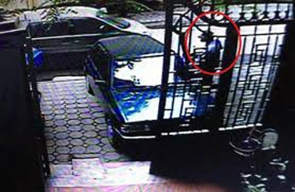 Hình ảnh camera ghi lại thời điểm vụ án xảy ra