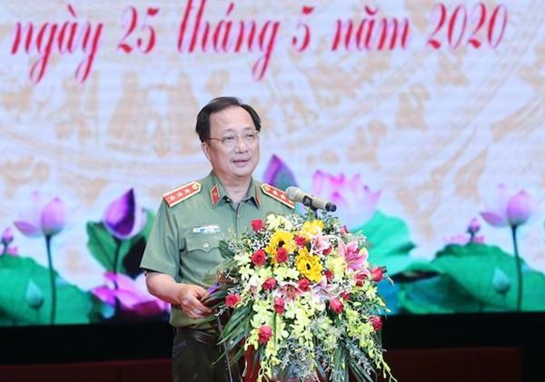 Thượng tướng Nguyễn Văn Thành phát biểu chỉ đạo Hội nghị