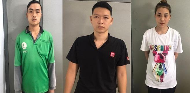 Các đối tượng trong đường dây buôn bán thuốc lá lậu liên tỉnh Thanh Hóa - Hà Nội