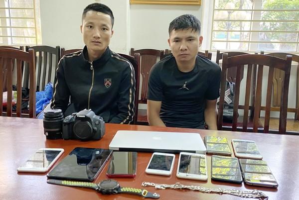 Các đối tượng Trịnh Bá Đỉnh và Nguyễn Danh Tình bị khởi tố về tội danh trộm cắp tài sản
