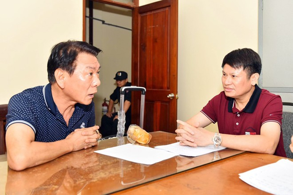 """Đại tá Nguyễn Văn Viện, Cục trưởng Cục CSĐT TP về ma túy Bộ Công an trực tiếp lấy lời khai của """"ông trùm"""" Kim Son Sik"""