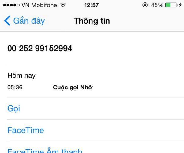 Cảnh báo thuê bao Mobifone bị các số điện thoại nước ngoài nháy máy lừa đảo