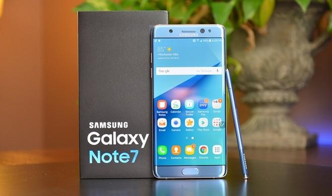 Còn 493 điện thoại Samsung Galaxy Note 7 chưa được thu hồi