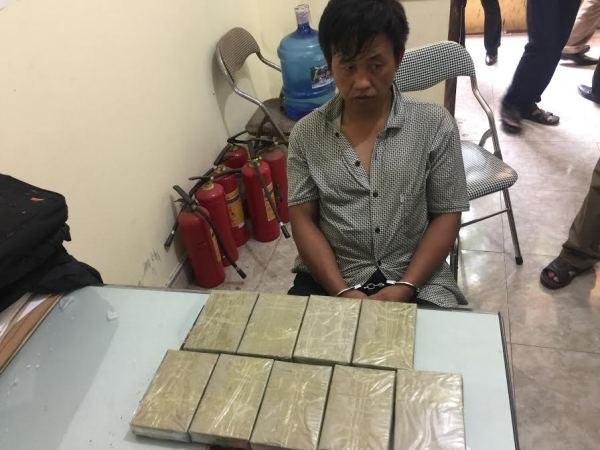 Đối tượng Khà A Chá và số ma túy bị bắt giữ