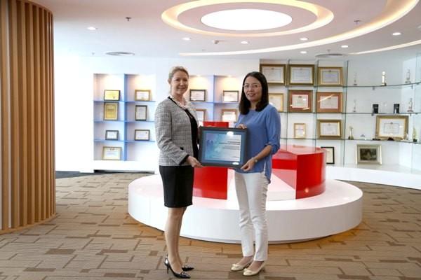 Maritime Bank được trao giải thưởng về thanh toán quốc tế ảnh 1
