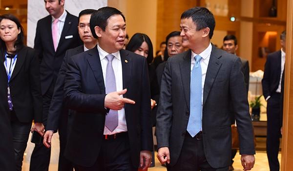 Tỷ phú Jack Ma xuất hiện tại Diễn đàn Thanh toán điện tử 2017