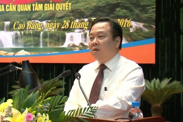 """Cựu Bí thư tỉnh ủy Cao Bằng chính thức làm Chủ tịch """"siêu ủy ban"""" quản lý 5 triệu tỷ đồng vốn nhà nước"""