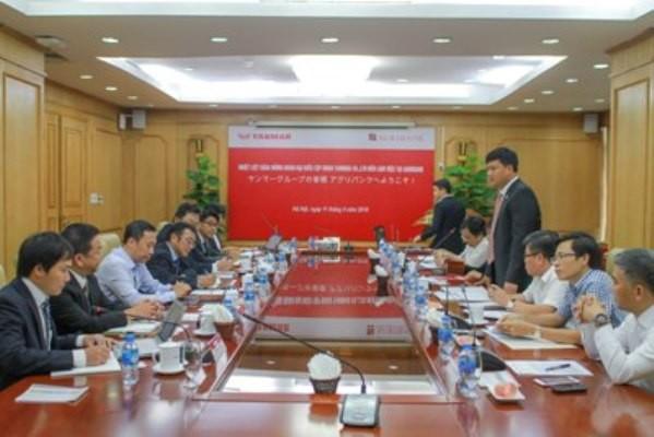 Agribank tiếp và làm việc với Tập đoàn Yanmar (Nhật Bản) ảnh 1