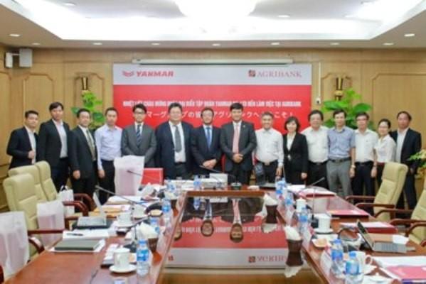 Agribank tiếp và làm việc với Tập đoàn Yanmar (Nhật Bản) ảnh 2