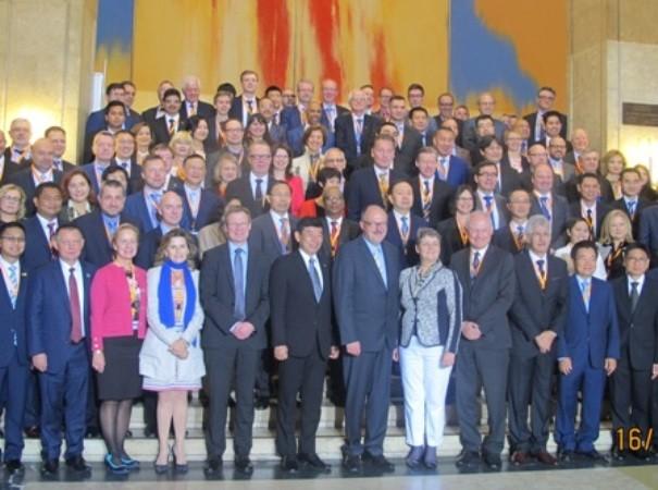 Lãnh đạo hải quan các nước tại Hội nghị Tổng cục trưởng hải quan ASEM 12