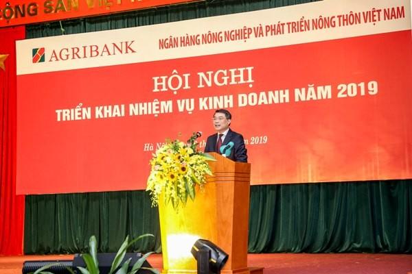Thống đốc NHNN Lê Minh Hưng phát biểu tại Hội nghị
