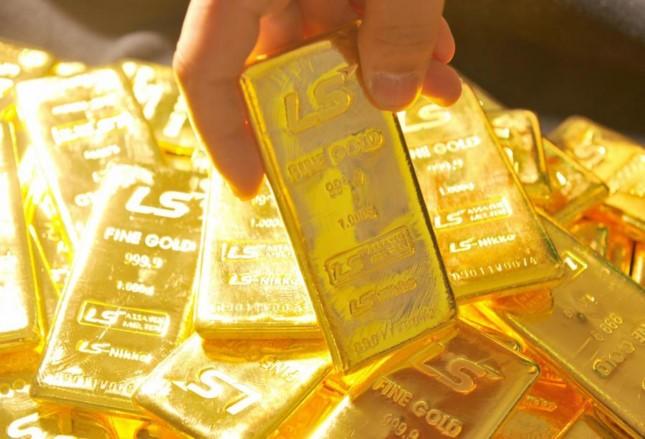Giá vàng giảm mạnh sau kỳ nghỉ lễ