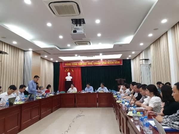 Đoàn công tác làm việc với các đơn vị thuộc EVN Hà Nội