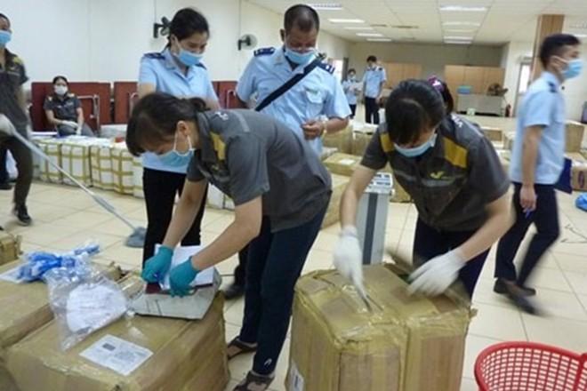 Nhiều vụ vận chuyển ma túy đã bị lực lượng hải quan phát hiện