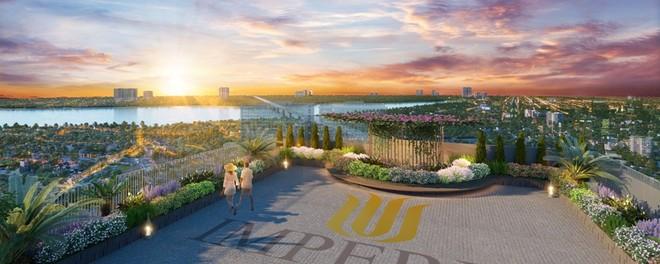 Imperia Sky View sở hữu tầm nhìn thoáng đãng ôm trọn một dải sông Hồng