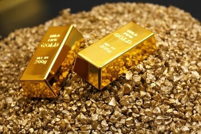 Giá vàng đã giảm khá mạnh sau những tín hiệu đầu tiên từ cuộc đàm phán Mỹ - Trung