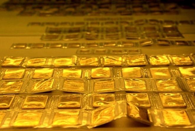 Giá vàng đang dao động trong biên độ hẹp